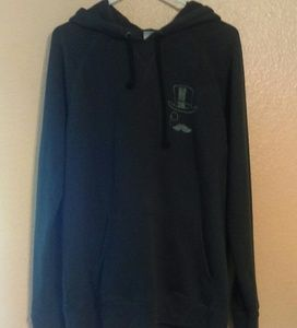 Junk Food gray monopoly hooded pullover